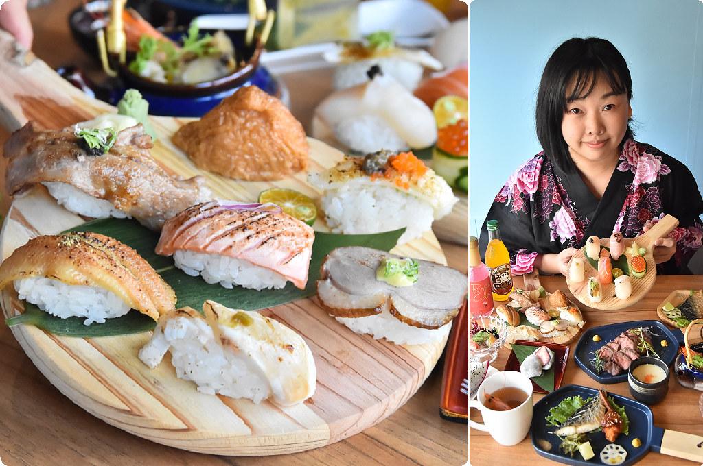 和食望月家 台中平價壽司 生魚片壽司定食推薦