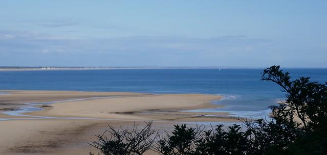 Bancs de sable, Carteret, Barneville-Carteret, Cotentin, Manche, Normandie, France.