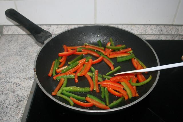 19 - Paprika andünsten / Braise bell pepper