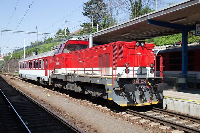 ŽSSK 736 102 Bratislava hlavná stanica