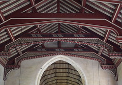 nave roof and canopy of honour (1920s)
