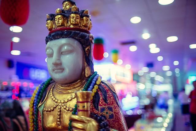 Shopping Mall Buddha