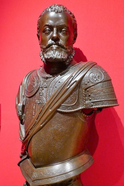 Leone Leoni, Philip II of Spain, c,1555, Bronze
