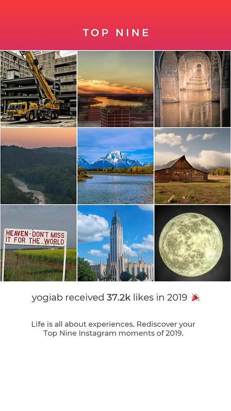 Top Nine Instagram Images 2019