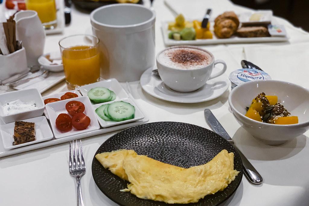 hotel des balances aamiainen
