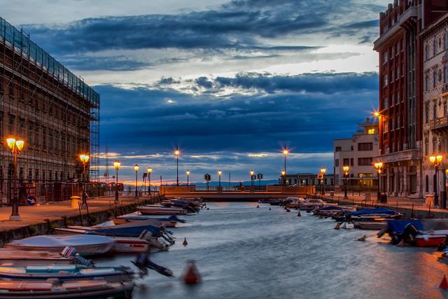 Canal Grande di Trieste / Italy