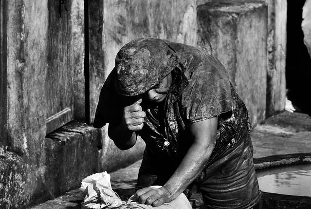 Chouara Tannery's Worker (4)