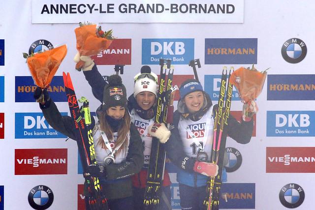 Mass Start Dimanche 22 décembre 2019 - BMW IBU WC Annecy - Le Grand-Bornand