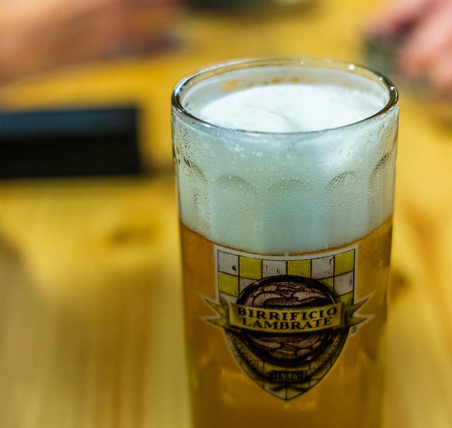 Close Up -Glass of Montestella (a 5% Pilsner) (Ruzanuvol - Italian Craft Beer in Valencia ) (Panasonic DC-S1 & Sigma DN 45mm f2.8 Prime) (1 of 1)