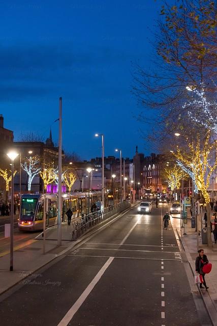 Christmas in Dublin.
