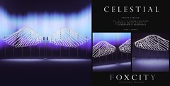 FOXCITY. Photo Booth - Celestial (White)