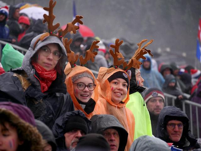 Ambiance du dimanche 22 décembre - BMW IBU WC Annecy - Le Grand-Bornand