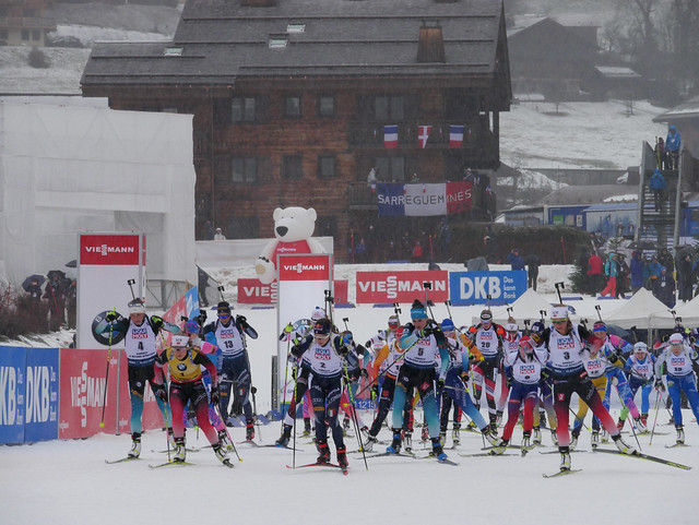 Mass Start Hommes et Dames Samedi 21 décembre 2019 - BMW IBU WC Annecy - Le Grand-Bornand