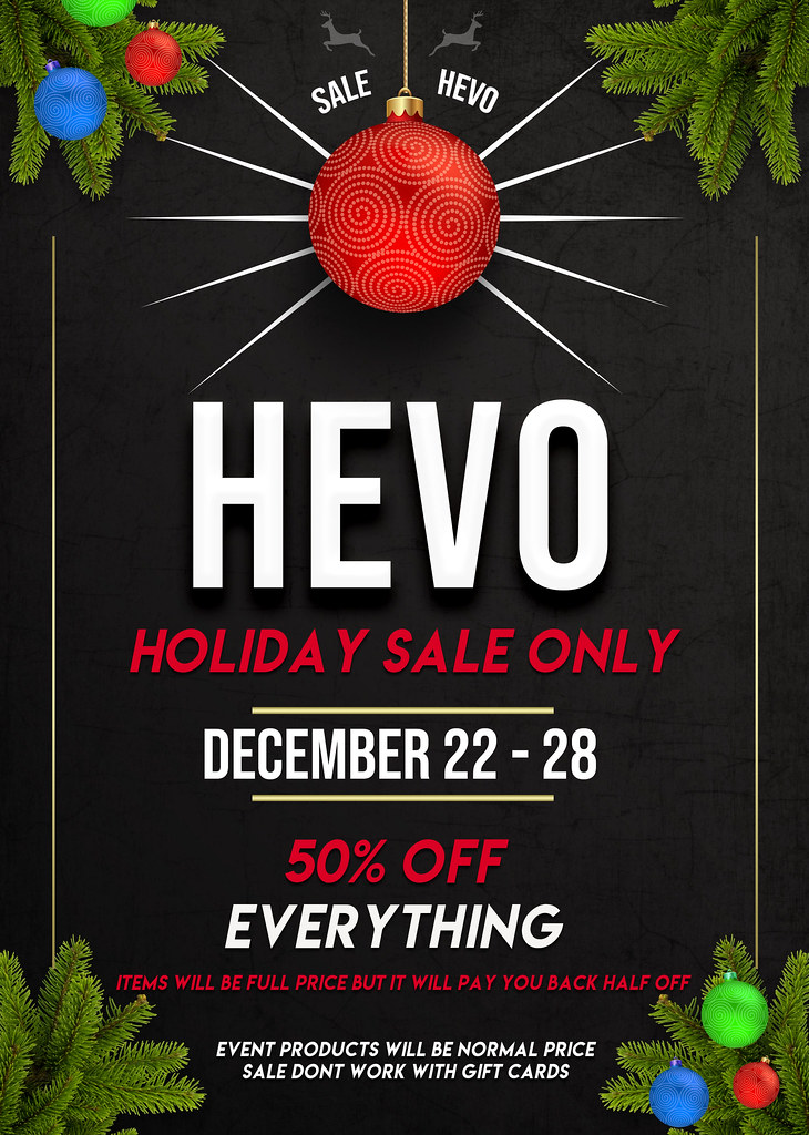 HEVO Holiday SALE !!
