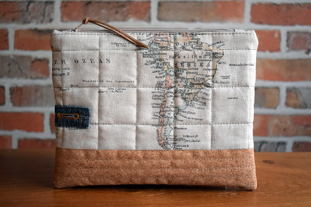 Lucy's Map Pouch