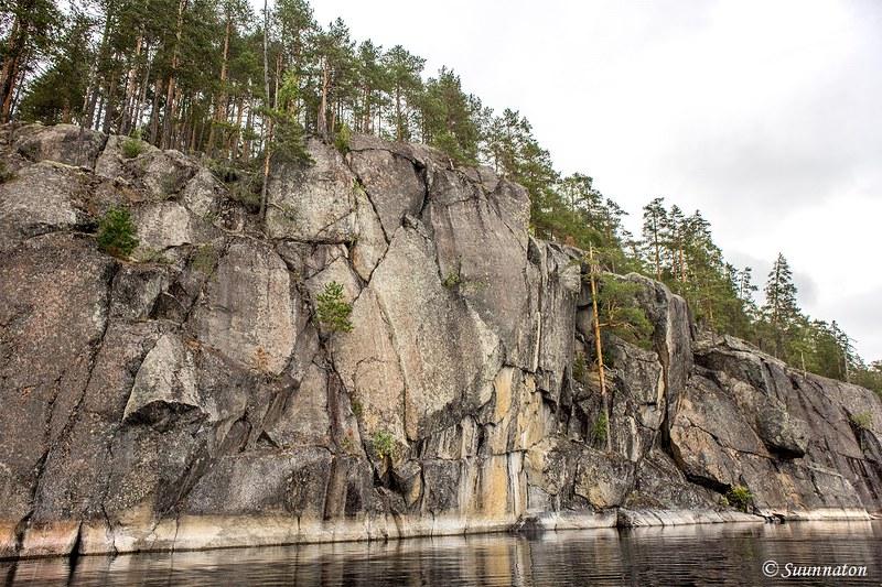 Koloveden kansallispuisto, kalliot