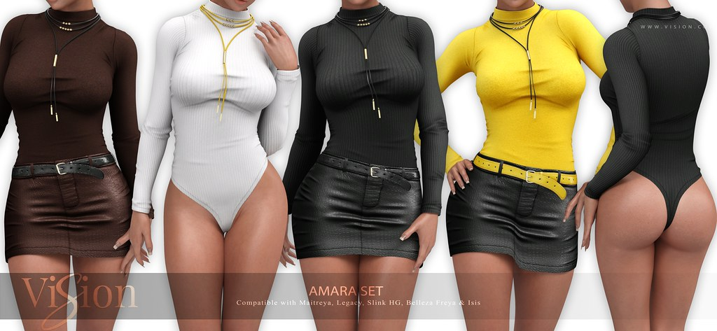 ViSion // Amara Set // @Uber - GIVEAWAY TIME ♥