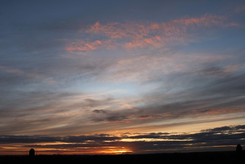 cambridge sunset clouds evening sky cambridgeshire england unitedkingdom uk castlemound canoneos750d
