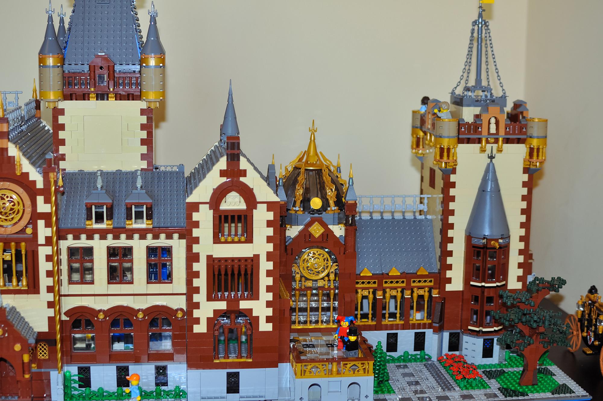 Lego Ukraine Drachenburg