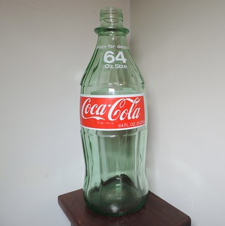 1975 Coke Coca Cola 64 OZ Bottle (2)