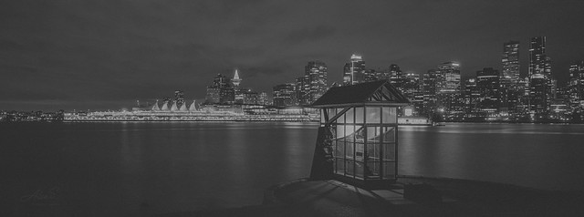 Vancouver Night - Film Hasselblad