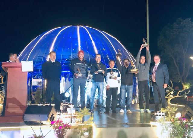 ECY AM team trophy awarding Dec 2019