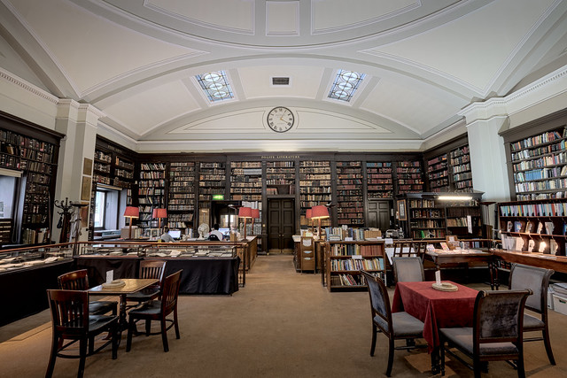 The Portico Library Main Room