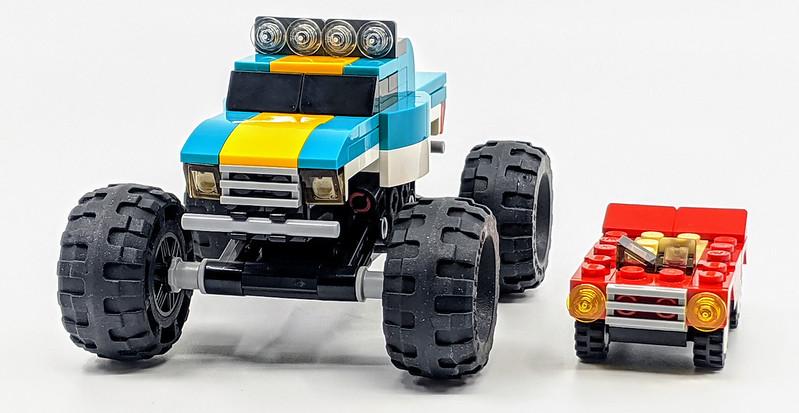 31101: LEGO Creator Monster Truck Set Review | BricksFanz