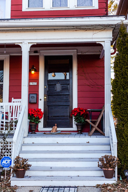 A great number and lovely porch