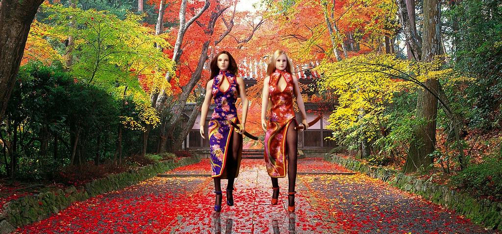 Phicen - Chinese Dresses 49261572407_68e172d6b1_b
