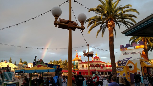 Rainbow at DCA