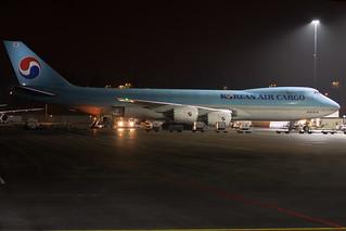 Korean Air Cargo Boeing 747-8B5F HL7623 ARN 191222
