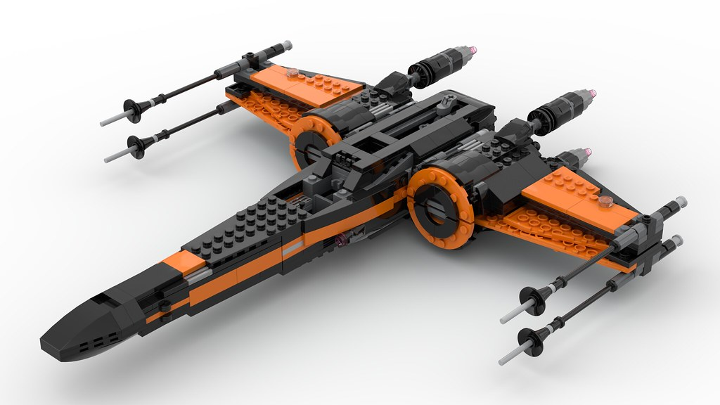 Mod Poe S X Wing 75273 Colour Swap Lego Star Wars Eurobricks Forums