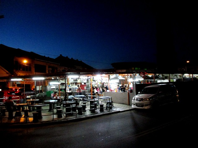 Open Air Kuching, hawker stalls section