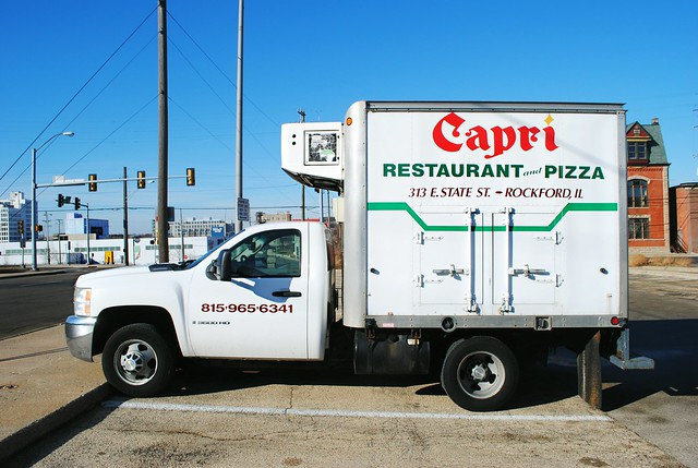Capri Restaurant & Pizza Carry Out truck