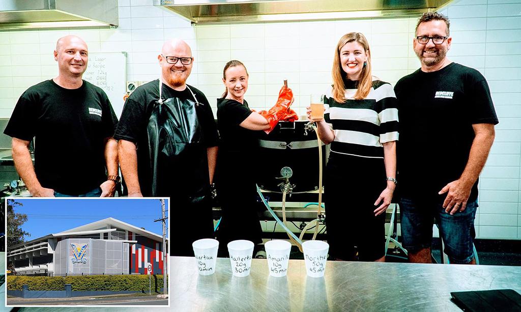 В австралийской школе открылась учебная пивоварня
