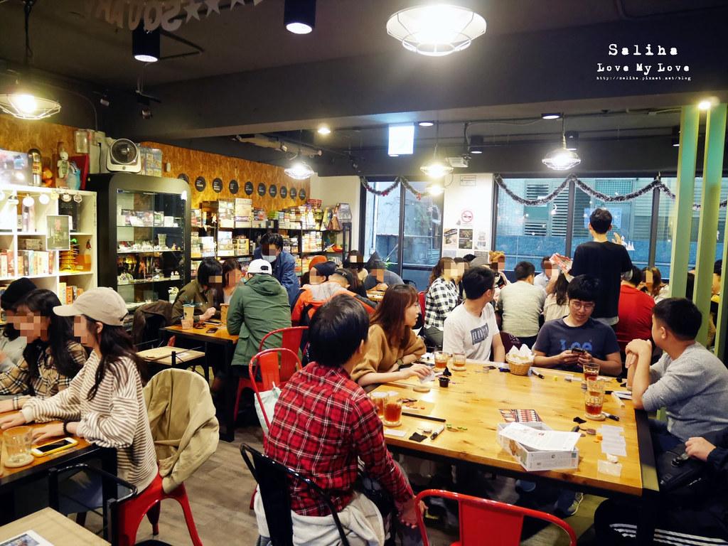 台北中山站桌遊店推薦Game Square遊戲平方包場聚會跨年 (3)