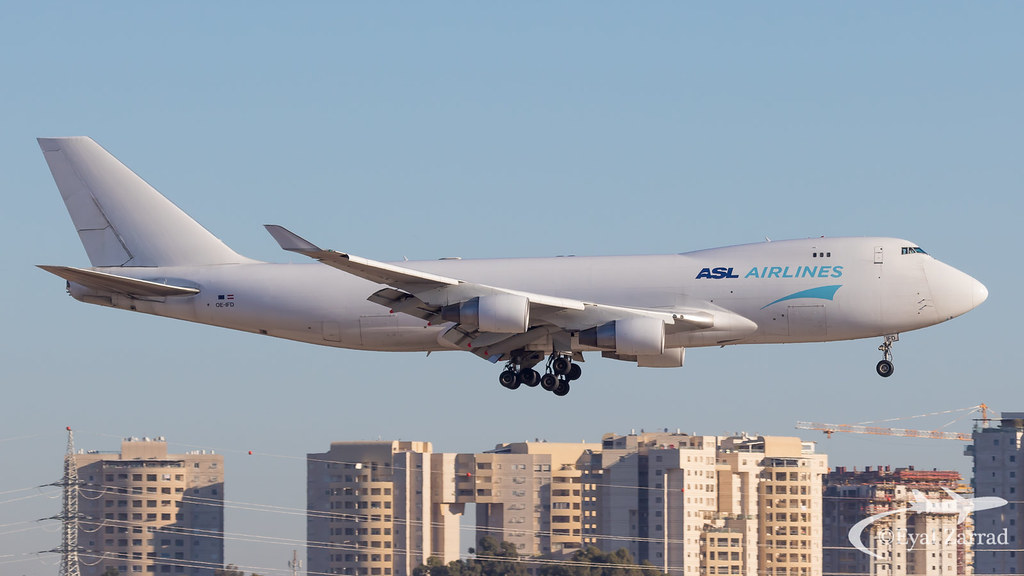 TLV - ASL Airlines Boeing 747-400 Freighter OE-IFD