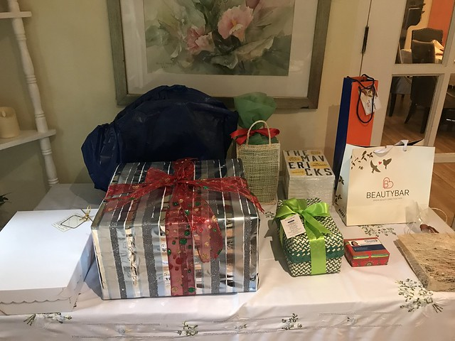 Christmas raffle gifts, WBCP