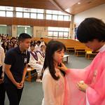 중고등부 세례식
