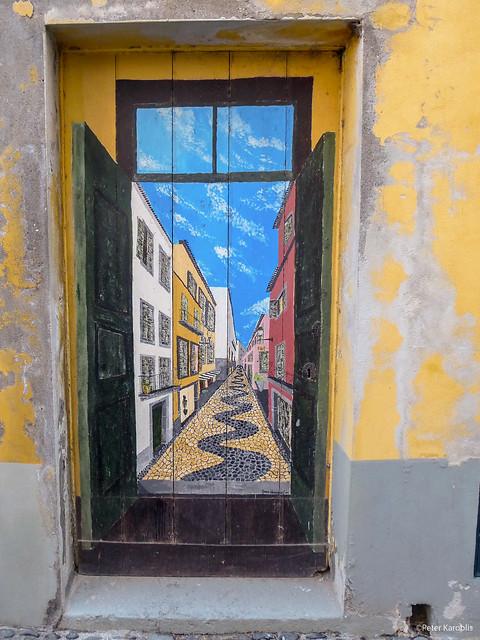 Funchal - door