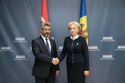 23.12.2019 Întrevederea Președintelui Parlamentului, Zinaida Greceanîi, cu membrii Grupului parlamentar de prietenie Republica Turcia – Republica Moldova