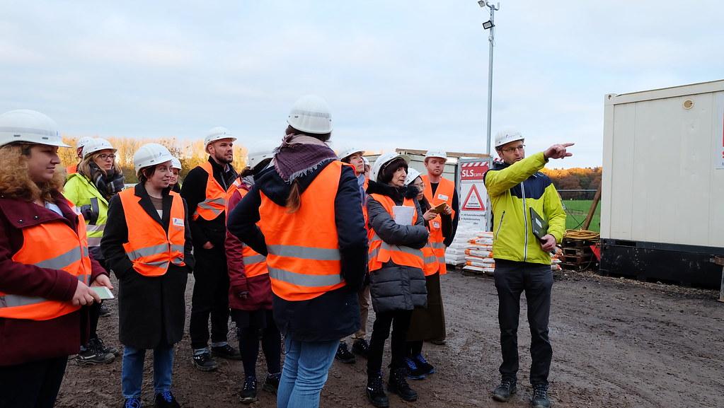 2019年RGI與德國清潔能源通訊社(Clean Energy Wire,CLEW)合辦國際能源記者的歐洲電網建設實地參訪與研討活動。攝影:陳文姿