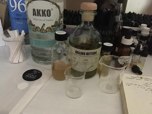 Lab Session for Aqua Mirabillis Workshop with Jullius Craft Distillery