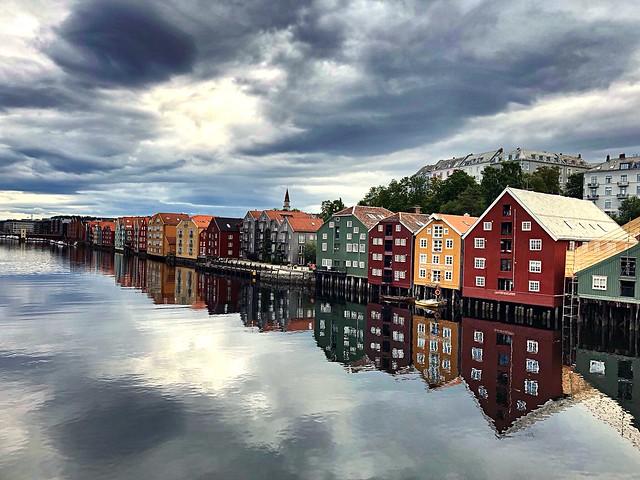 Trondheim. Norway.