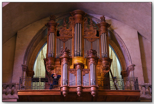 Orgue à la Cathédrale Saint-Étienne, Caors (Lot, France)