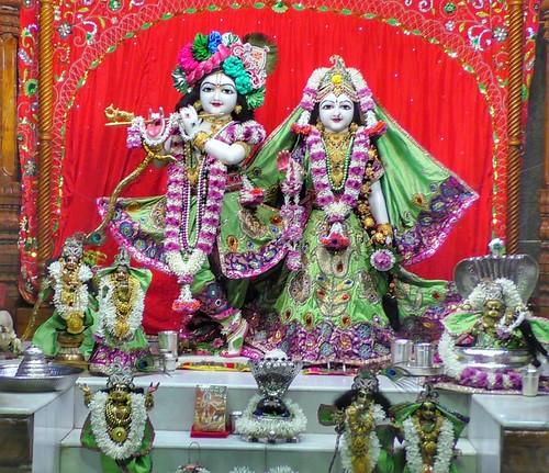 ISKCON Narasaraopet Deity Darshan 23 Dec 2019