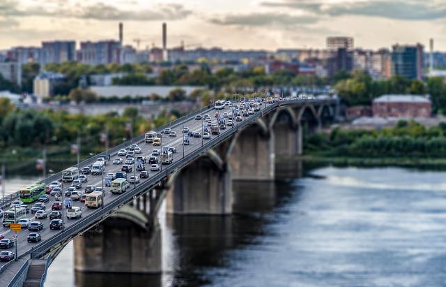 Tilt-Shift Bridge