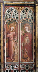Angels from the Orders of Angels and St Barbara (15th Century)