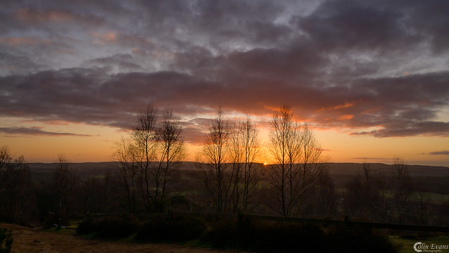 Sunrise on St Martha's Hill